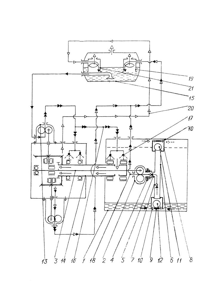 Устройство для смазки подшипниковой опоры ротора турбомашины