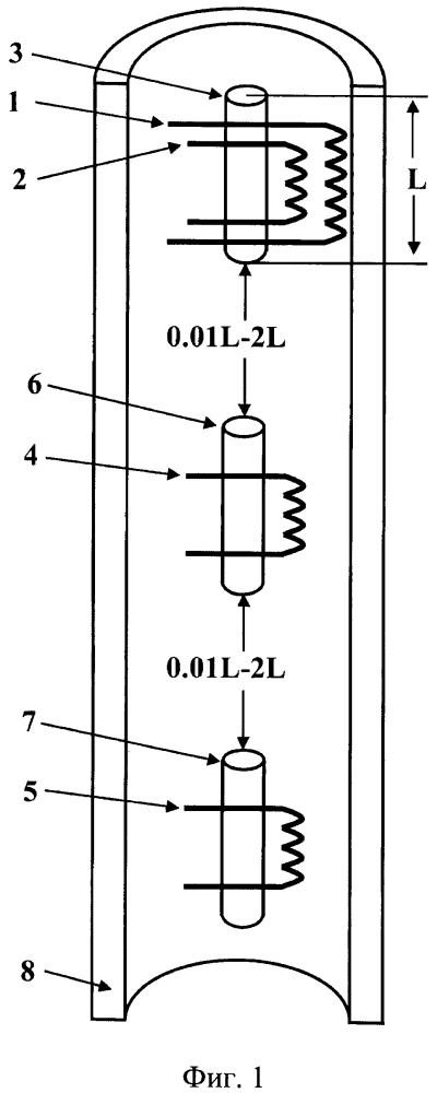 Электромагнитный скважинный дефектоскоп (варианты)