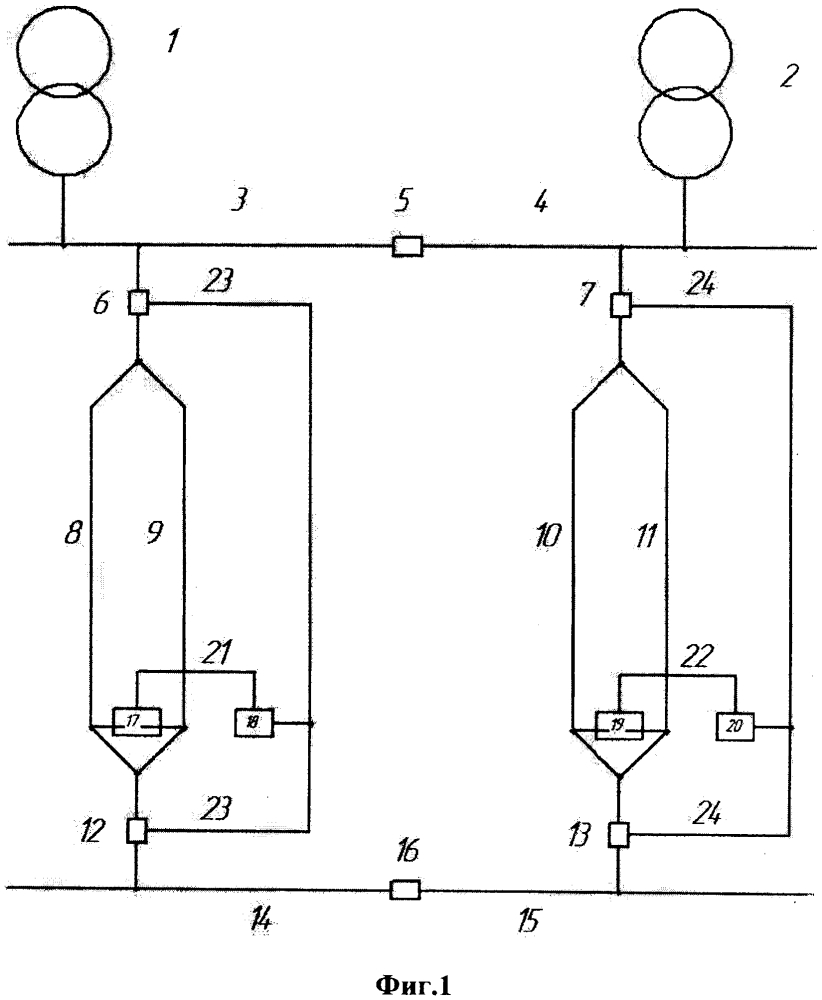 Устройство токовой защиты