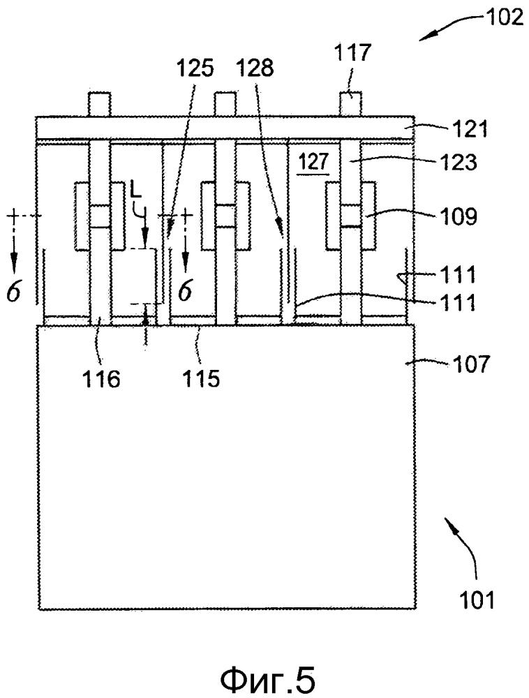 Пассивная система управления дугой с газоотводящей камерой