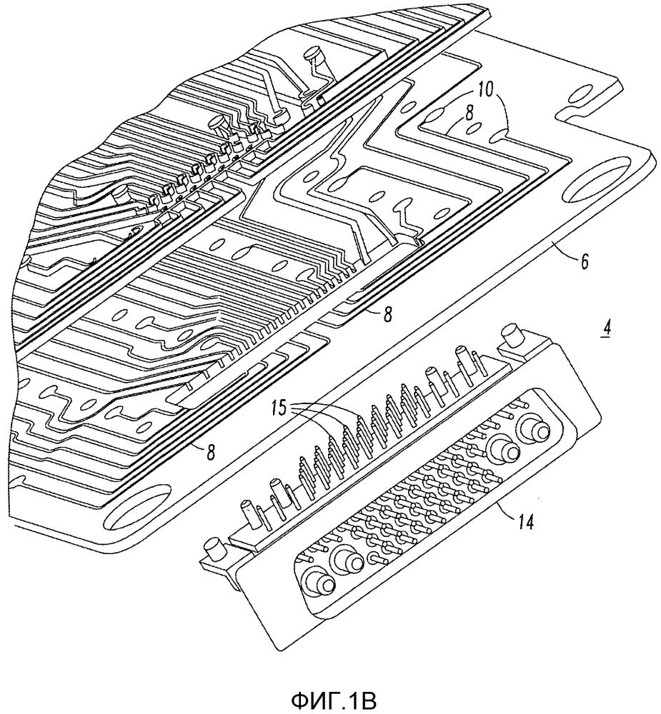 Компоновка шин нагрузки и способ ее производства