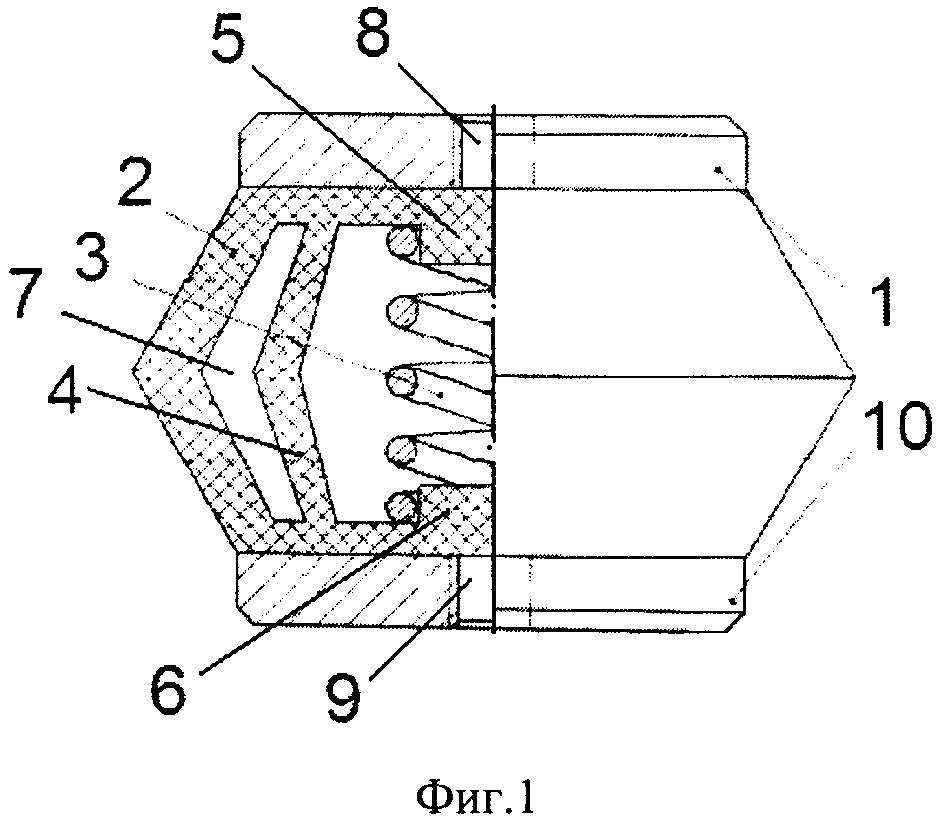 Комбинированный виброизолятор кочетова