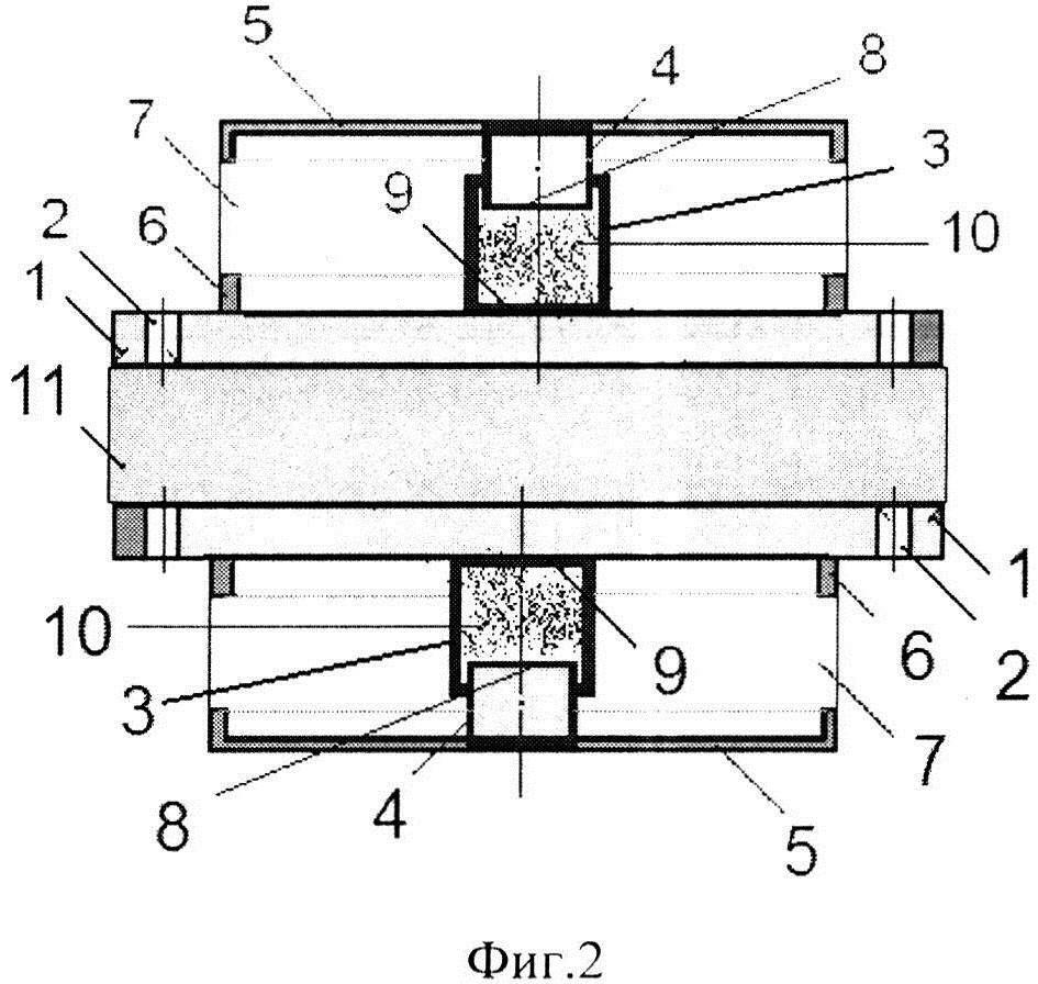 Виброизолятор шайбовый сетчатый