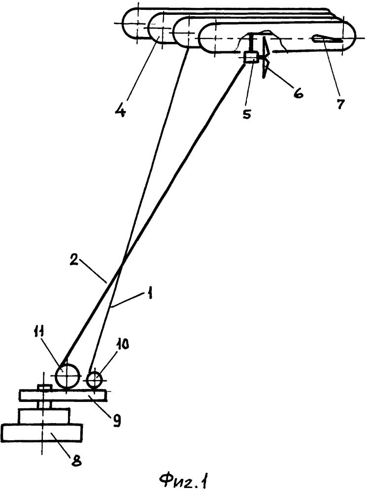 Аэростатно-привязная ветротурбина
