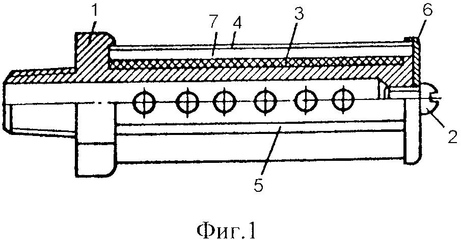 Глушитель шума выпуска втулочного типа