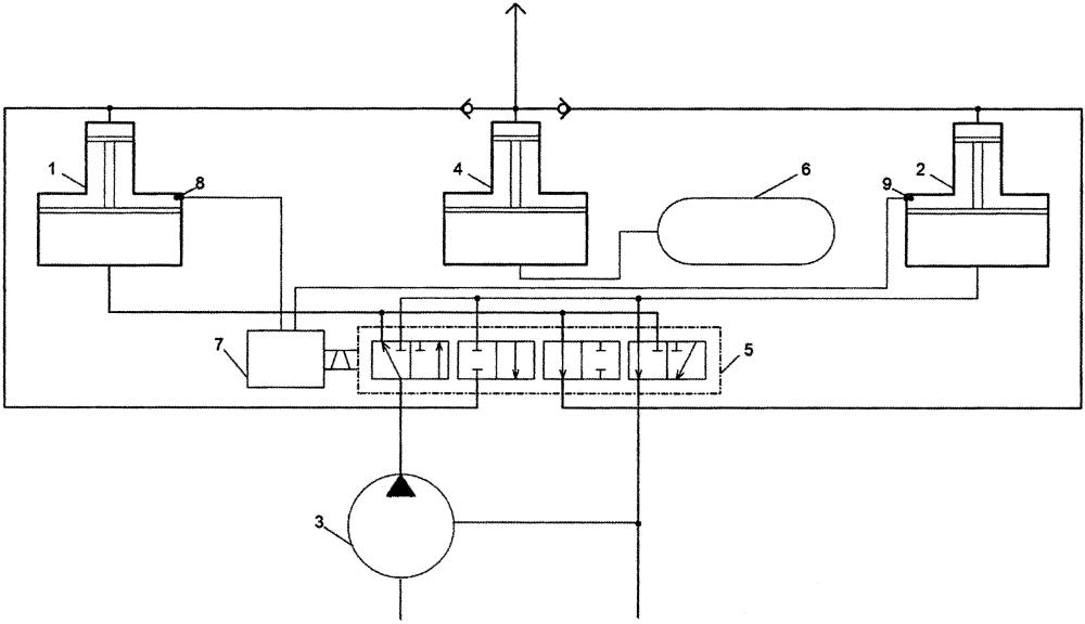 Устройство для динамического повышения давления с функцией сглаживания пульсаций гидравлической жидкости
