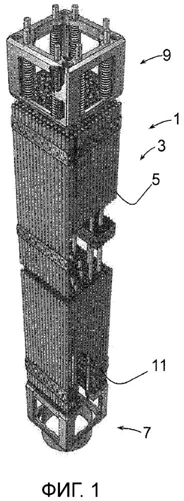 Тепловыделяющая сборка для ядерного реактора