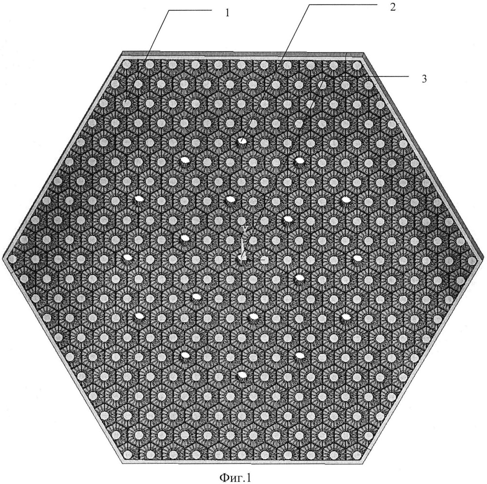 Опорная решетка-фильтр для тепловыделяющей сборки ядерного реактора