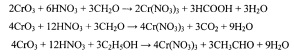 Способ получения раствора нитрата хрома (iii)