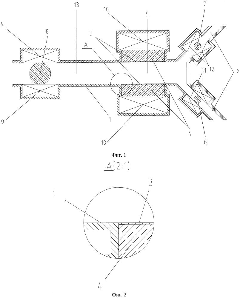 Смеситель-дозатор с магнитожидкостными управляющими элементами