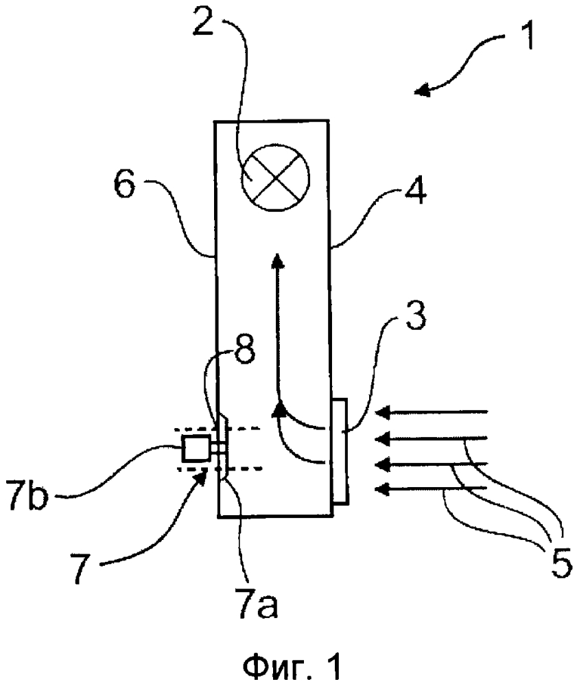 Направляющий воздух корпус системы отопления и/или кондиционирования воздуха, в частности, для транспортных средств