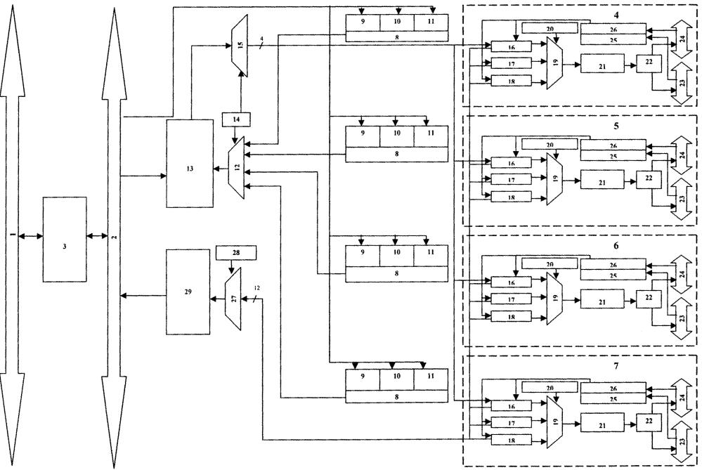 Адаптер магистрального последовательного интерфейса мультиплексного канала информационного обмена