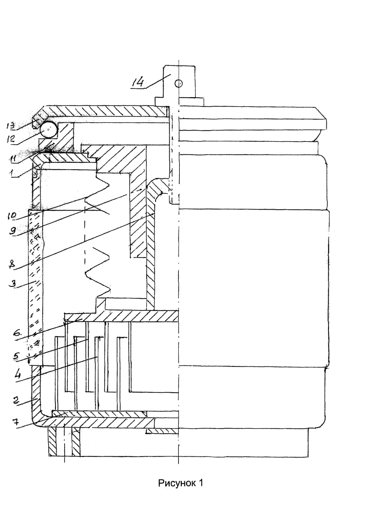Вакуумный конденсатор переменной емкости