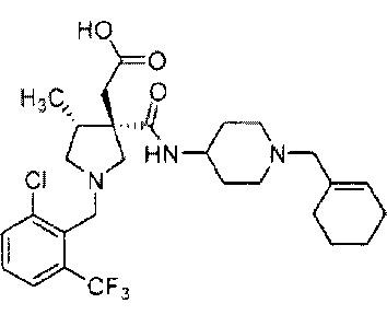 Соль производного пирролидин-3-ил-уксусной кислоты и ее кристаллы