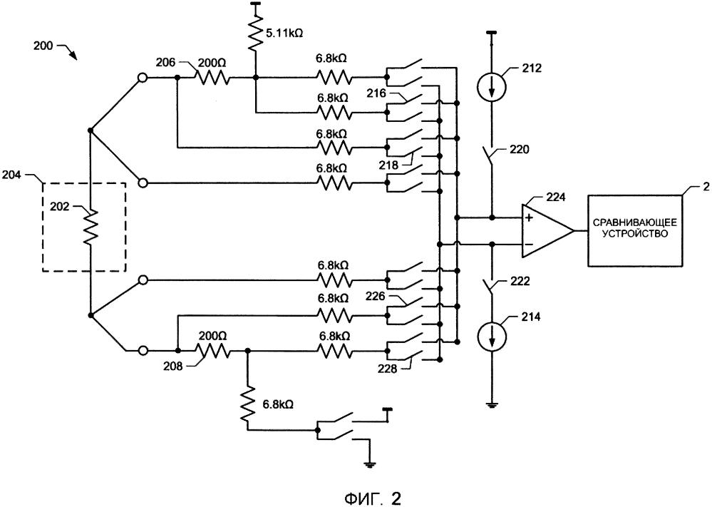 Способы и устройства для обнаружения тока утечки в резистивном датчике температуры