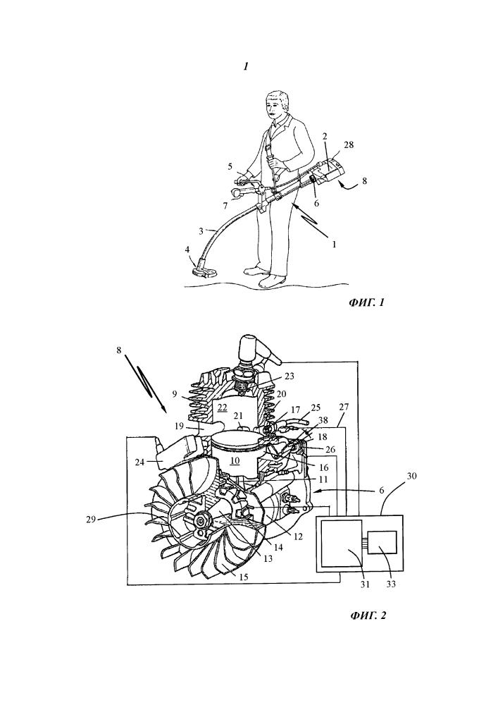Способ управления числом оборотов двигателя внутреннего сгорания (варианты)