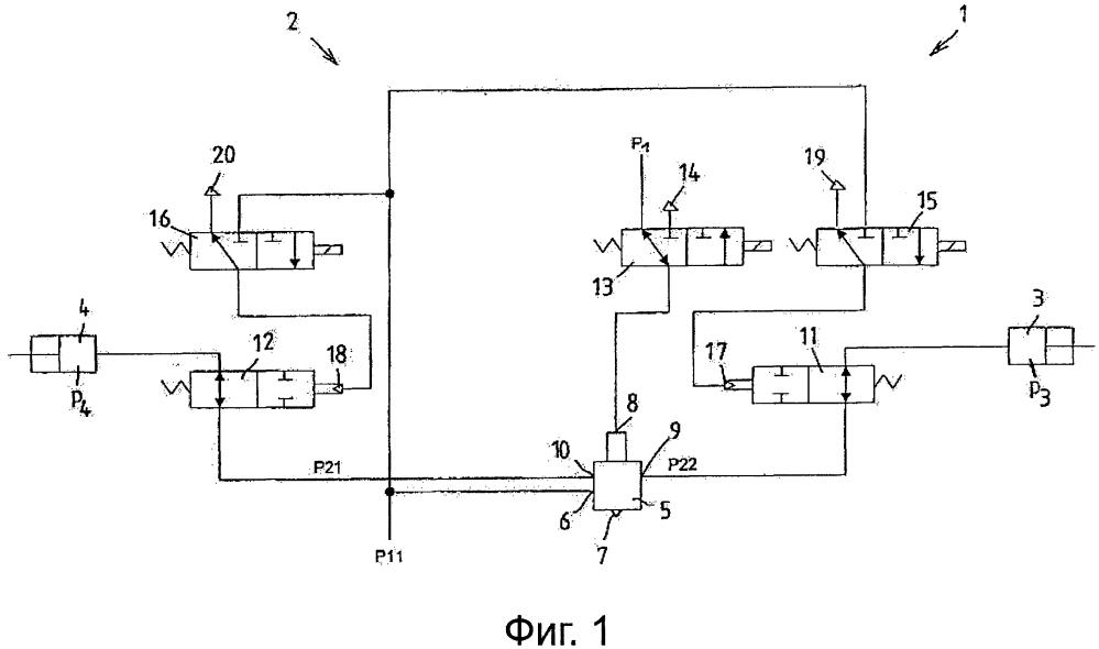 Способ управления устройством регулирования давления тормозной системы с рабочим телом транспортного средства
