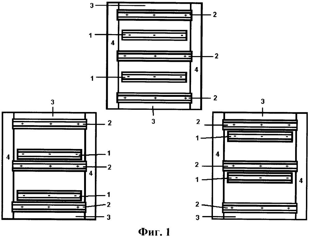 Электрическая машина емкостная (эме) планарного типа