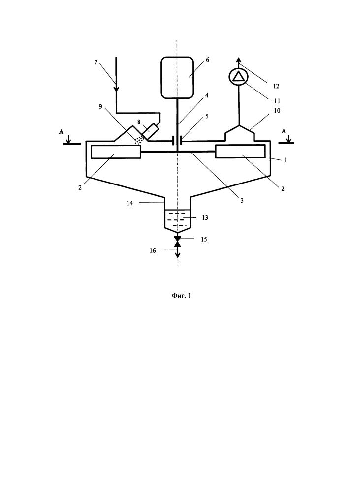 Ротационно-ударный испаритель и способ вакуумной перегонки сложных жидкостей на его основе