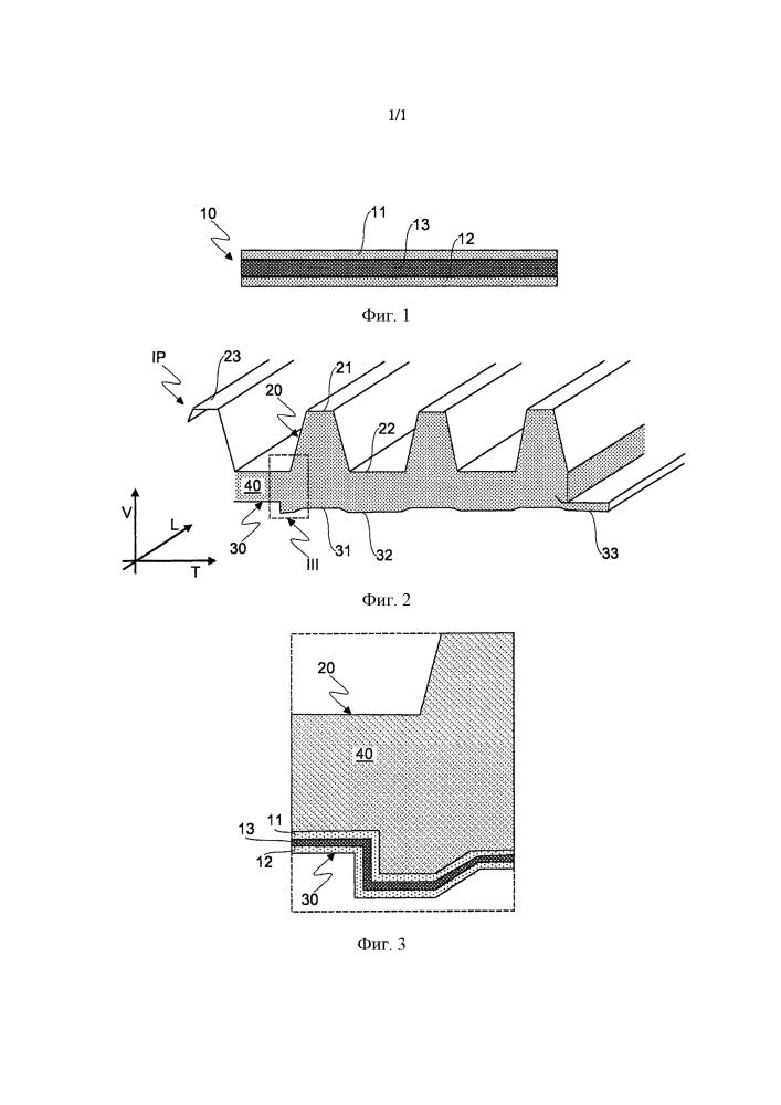 Многослойный ламинированный материал для изготовления теплоизоляционных панелей