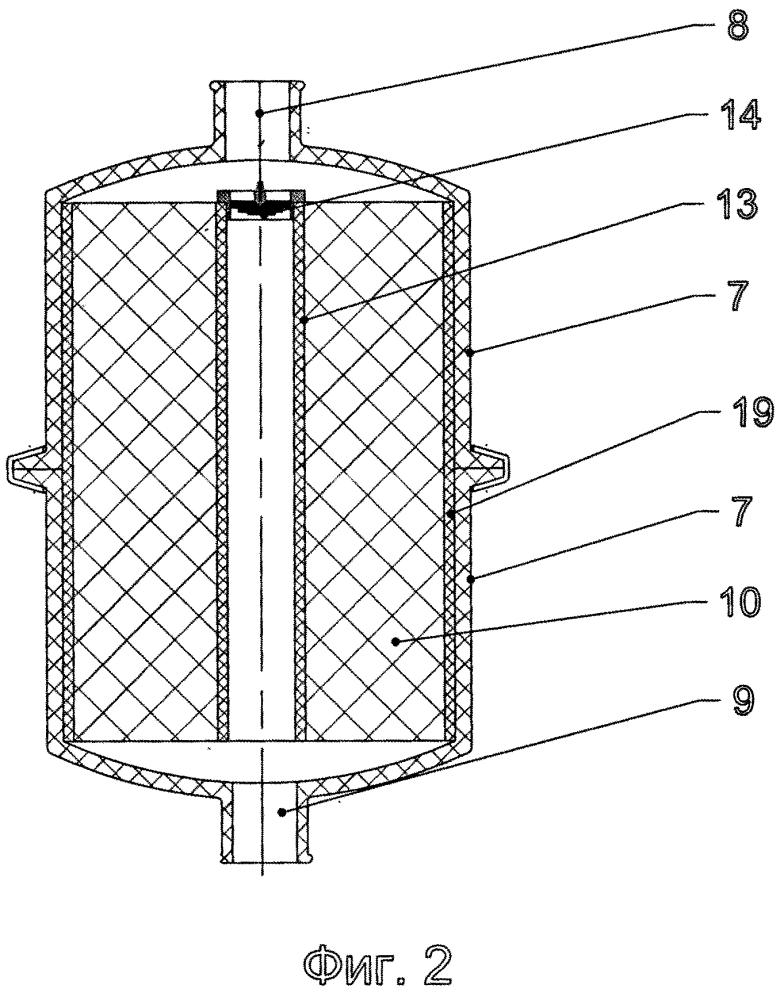 Теплообменное устройство изолирующего дыхательного аппарата