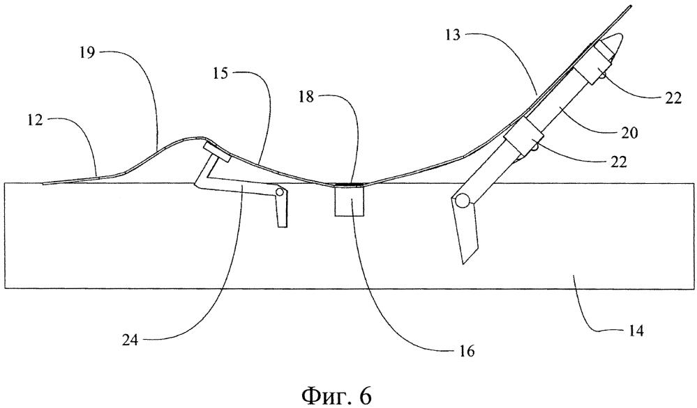 Шарнирно-сочлененная кровать с гибкой опорой для матраса