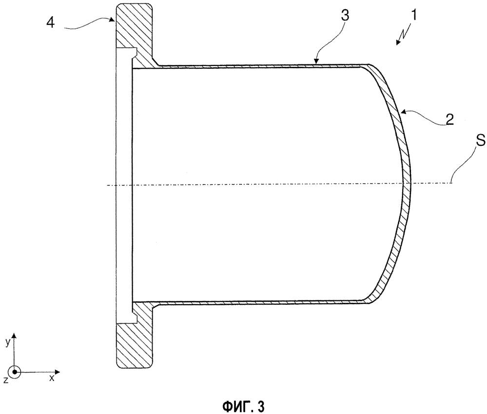 Разделительный стакан для насосов с магнитной муфтой, а также способ изготовления