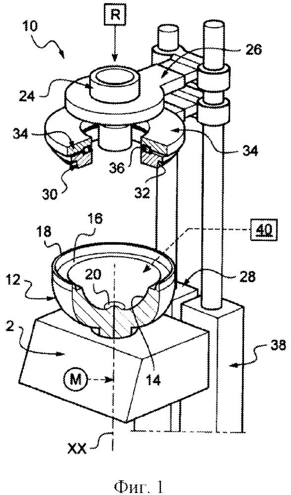Способ и устройство для изготовления изделий из стекла сложной формы посредством центрифугирования