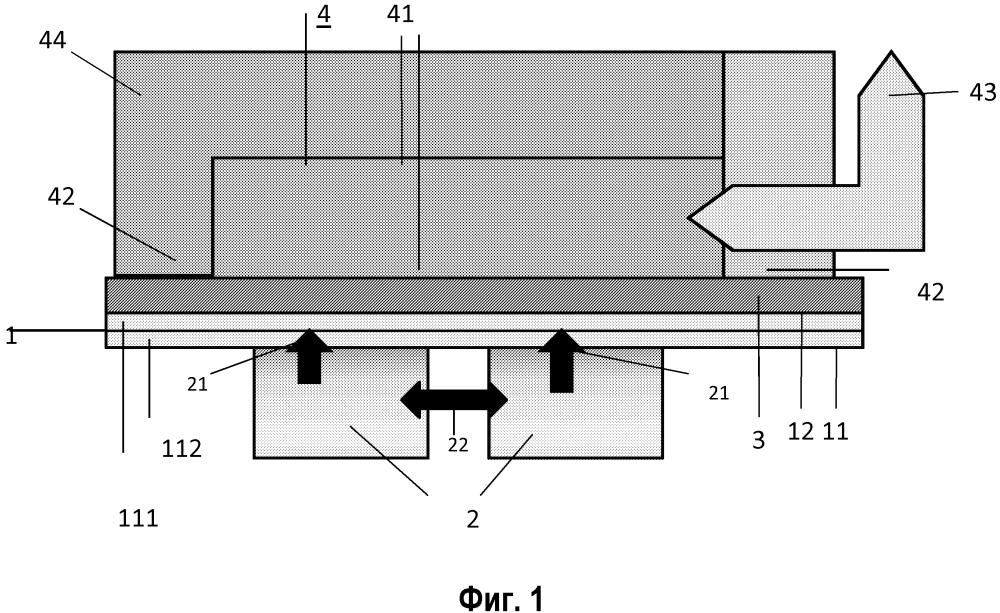 Интегральный электронный модуль с охлаждающей структурой