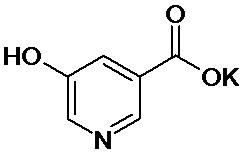 5-гидроксиникотинат калия, обладающий кардиопротекторной активностью