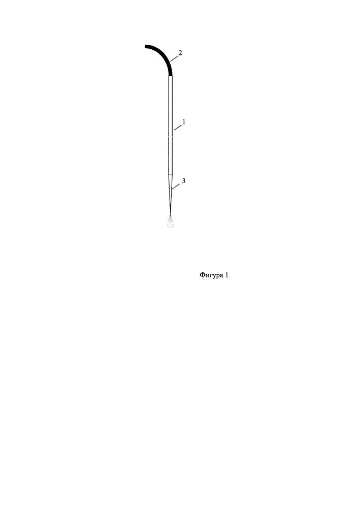 Водяной термобур для бурения скважин в ледяных образованиях