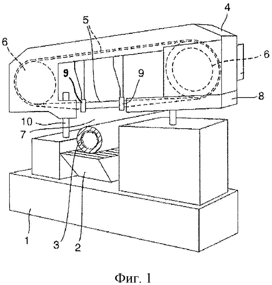 Ленточнопильный станок и способ распила металлической трубы