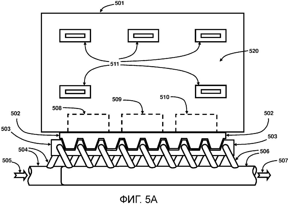 Электронные модули с жидкостным охлаждением и способы их замены