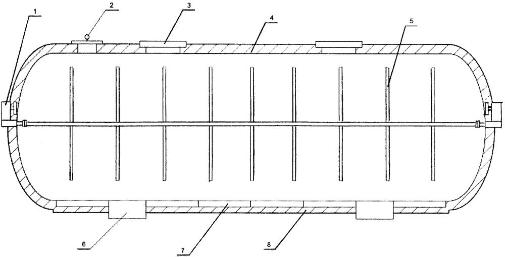 Способ утепления корпуса биореактора для непрерывной переработки навоза