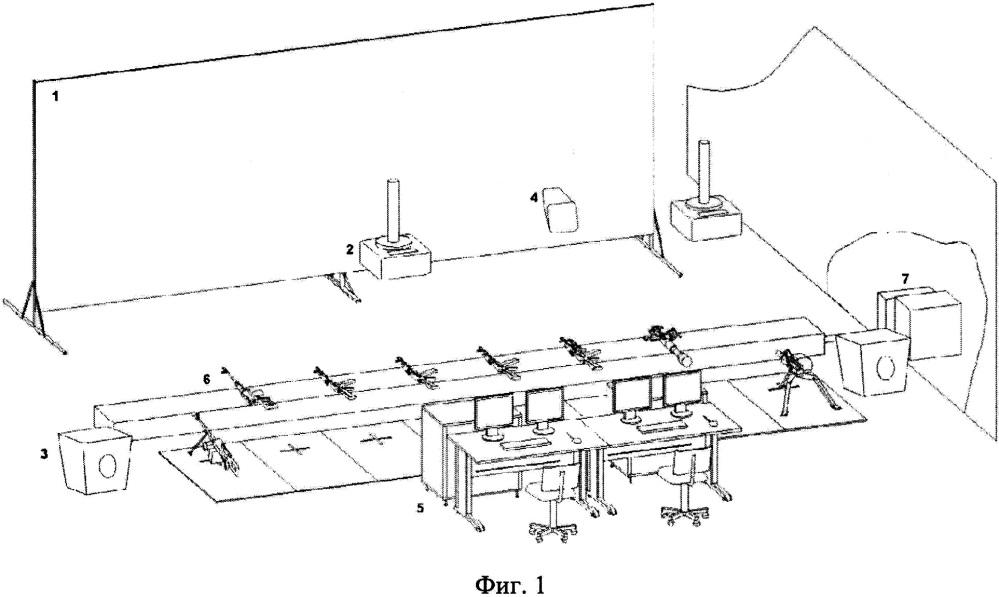 Электронный стрелковый тренажер тэст