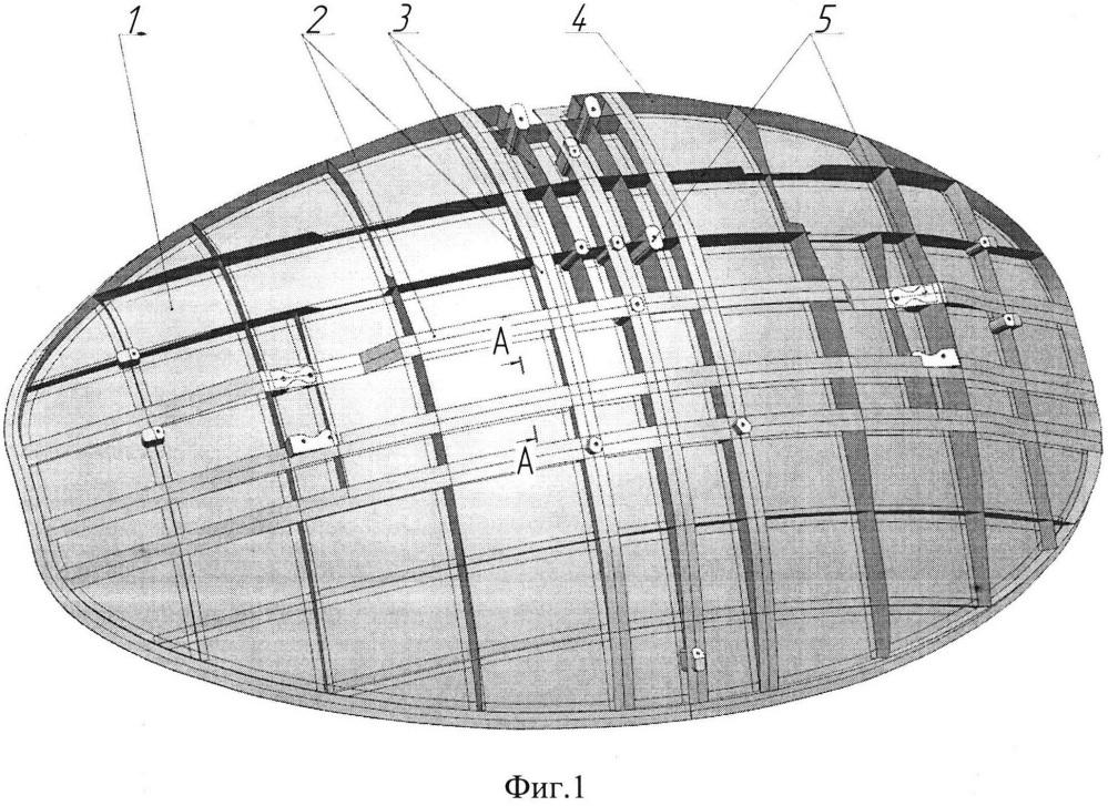 Конструкция рефлектора зеркала антенного из полимерных композиционных материалов