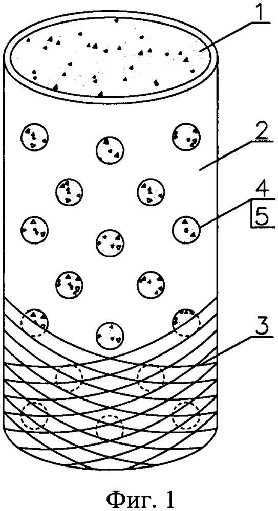 Длинномерный трубобетонный элемент