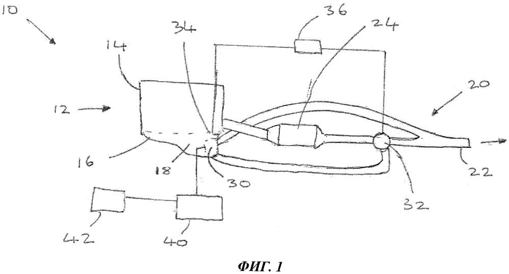 Двигатель транспортного средства (варианты) и транспортное средство, содержащее такой двигатель