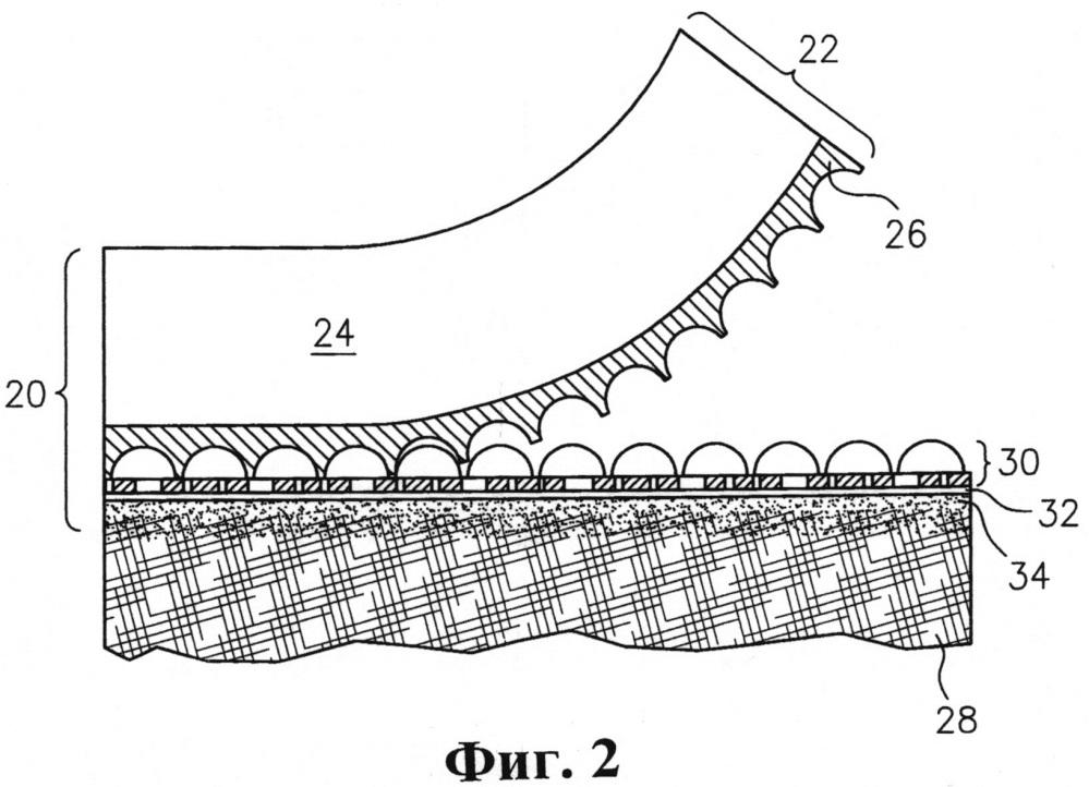 Опционально переводная оптическая система с уменьшенной толщиной