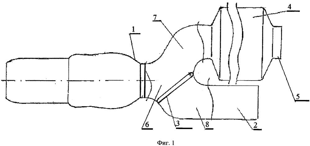 Выходное устройство авиационного двигателя и группы авиационных двигателей силовой установки (варианты)