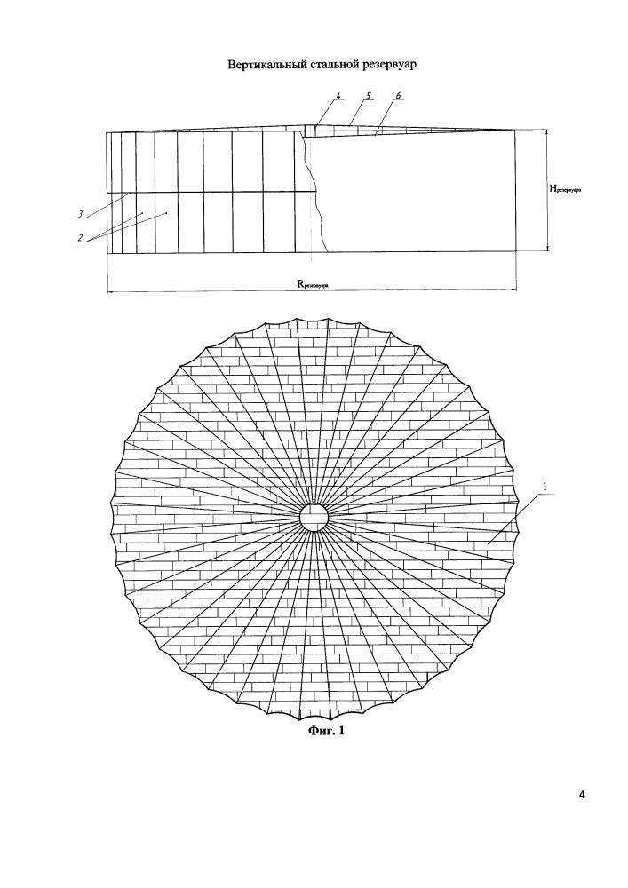 Вертикальный стальной резервуар