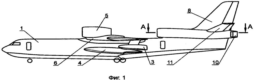 Самолет-амфибия (гидросамолет) с реактивными двигателями