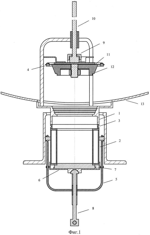 Сливной прибор железнодорожной цистерны