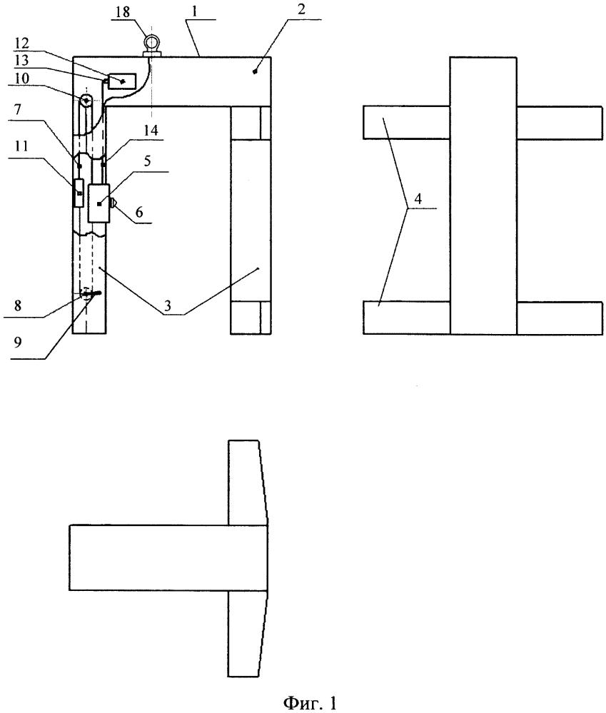Устройство для восстановления утраченных форм кузова полувагона
