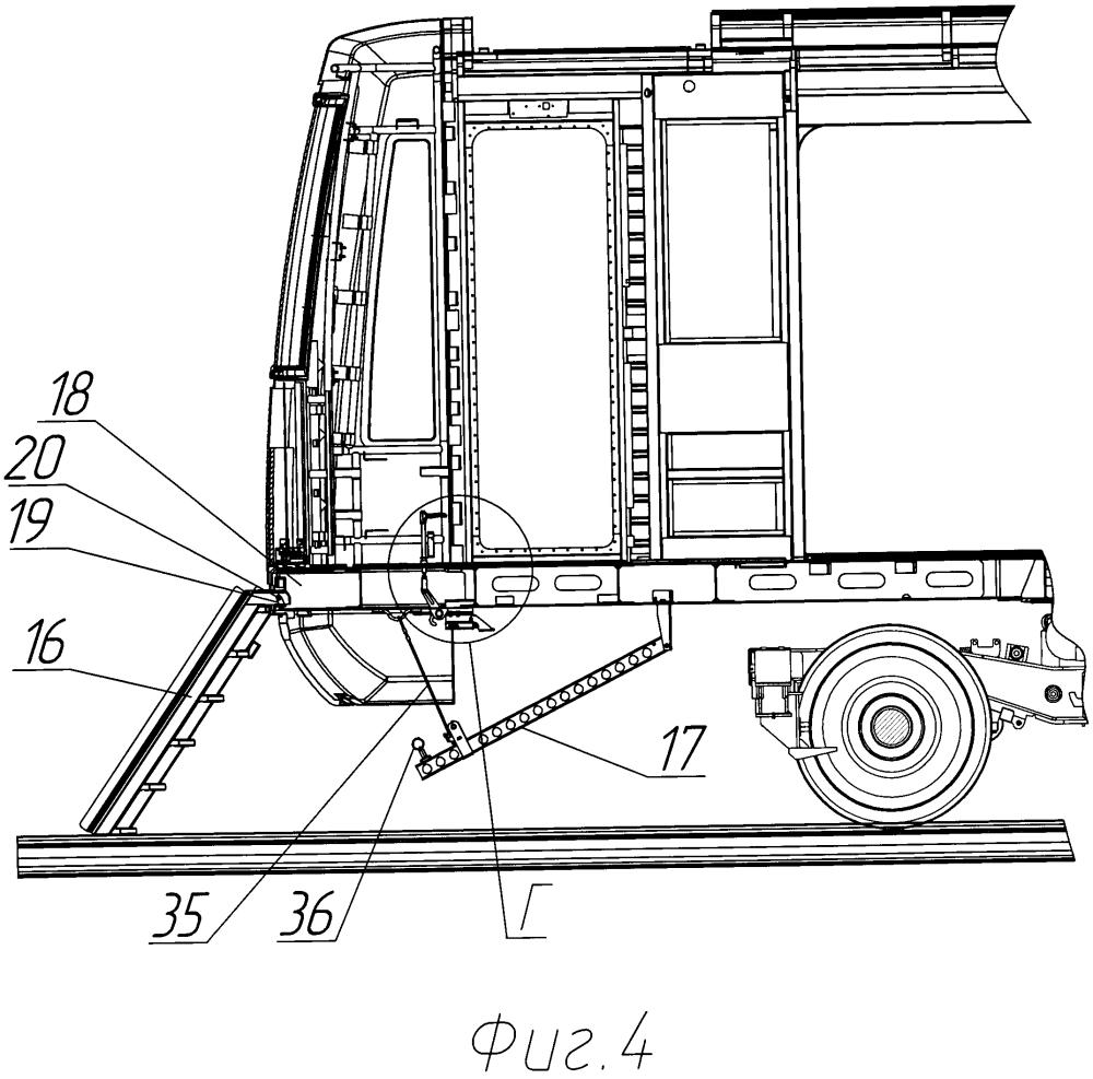 Устройство для аварийного выхода из вагона метро