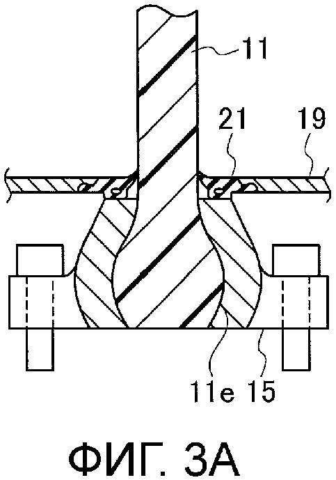 Уплотнение для турбовентиляторного двигателя