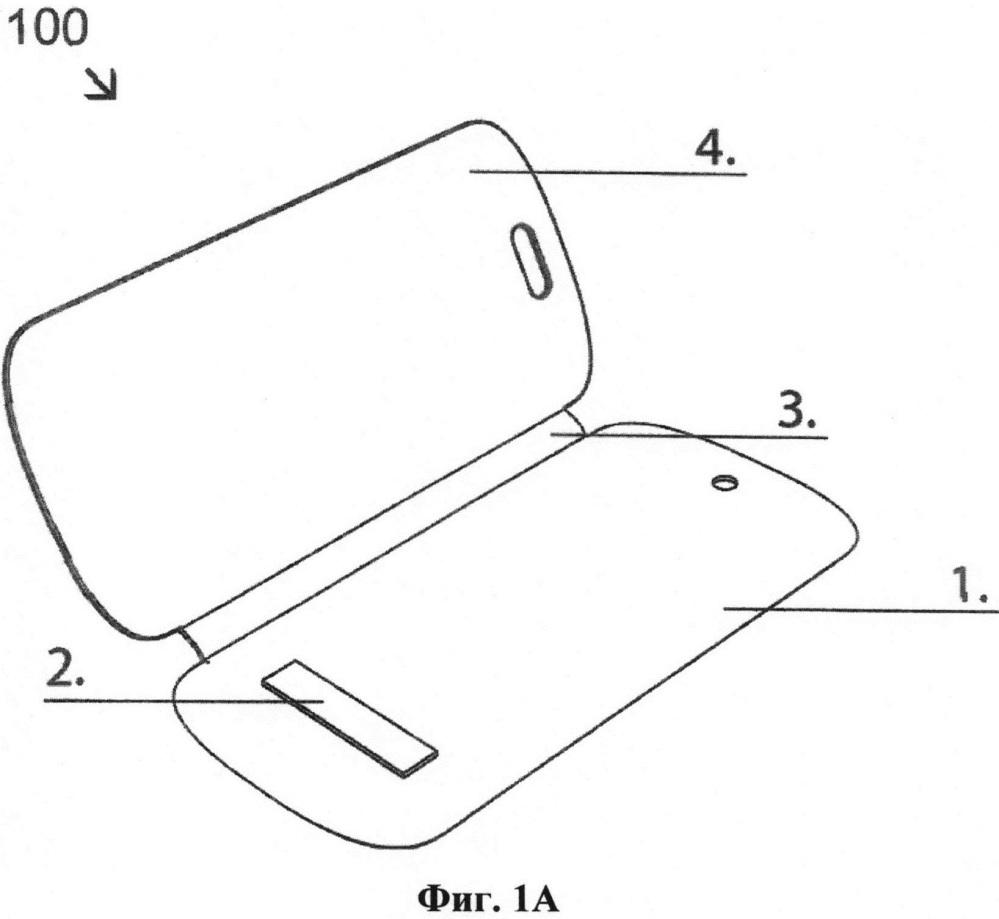 Обложка интеллектуального устройства (варианты)