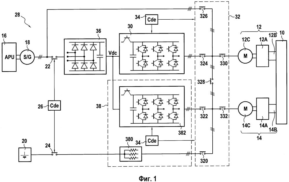 Система управления и электроснабжения для газотурбинных двигателей вертолета