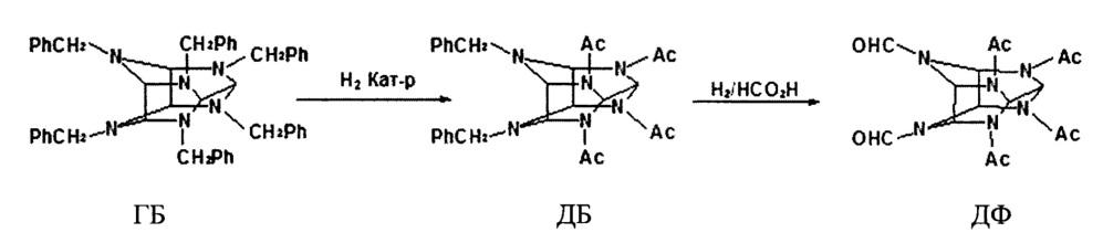 Способ получения катализатора и способ его применения для многократного использования в промышленном процессе двухстадийного гидрогенолиза при производстве 2,4,6,8,10,12-гексанитро-2,4,6,8,10,12-гексаазатетрацикло[5,5,0,03,11,05,9]додекана