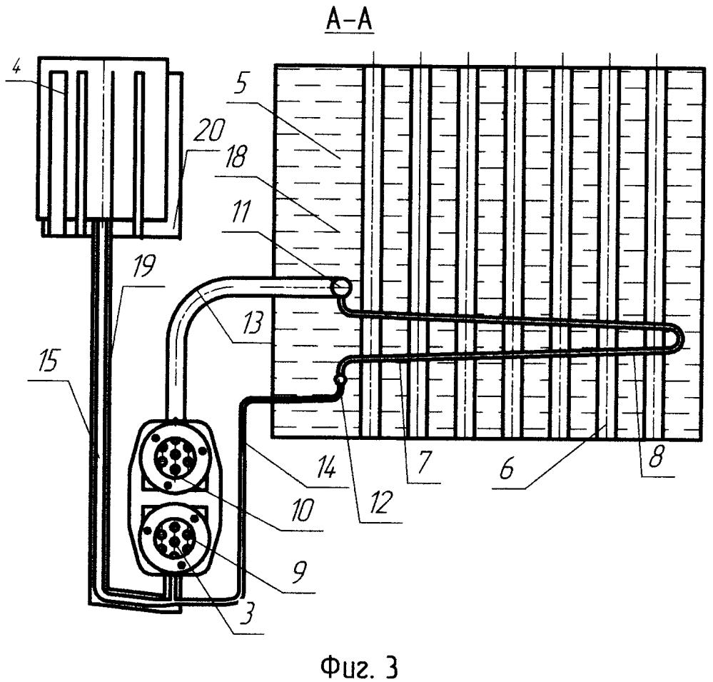 Система подогрева установки с тепловым двигателем